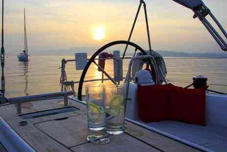 Escape Yachting - Luxury Yacht Sailing Trip with Champagne Meal - Save 49%
