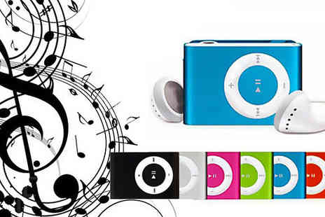 Trading Post - Portable 8GB Shuffle MP3 or upgrade to a bundle including earphones and USB charger  - Save 50%