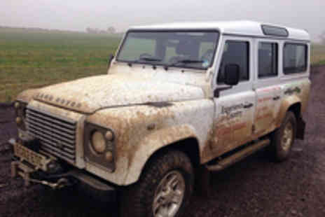 Experience the Country - 4X4 Off Road Driving Experience for Two People - Save 55%