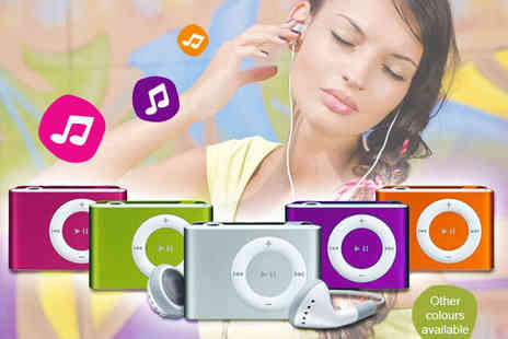 Qualite - 8GB MP3 Player with Earphones in Choice of Colour - Save 84%