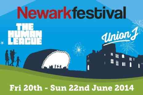 Liz Hobbs Group - Two Tickets to Newark Festival  - Save 54%