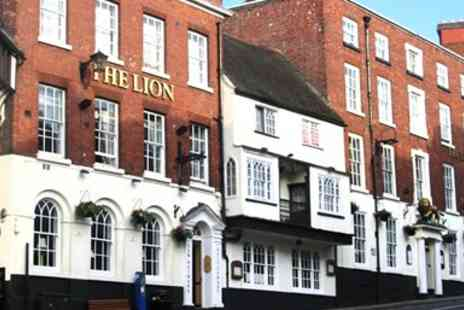 The Lion Hotel Shrewsbury - Two Course Dinner for 2  - Save 52%