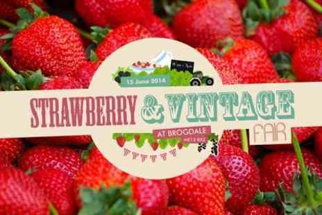 Brogdale Collections - Entry to Strawberry and Vintage Fair For Two - Save 50%
