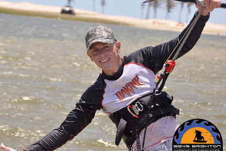 Beks Kitesurfing - Two Hour Power Kiting Session for One - Save 54%