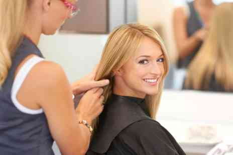 Code Hair & Beauty - Cut, MoroccanOil and Blow Dry With Highlights - Save 50%