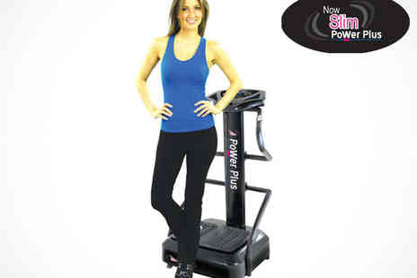 Now Slim - Six Week Vibration Plate Hire for Your Home with Workout DVD - Save 54%