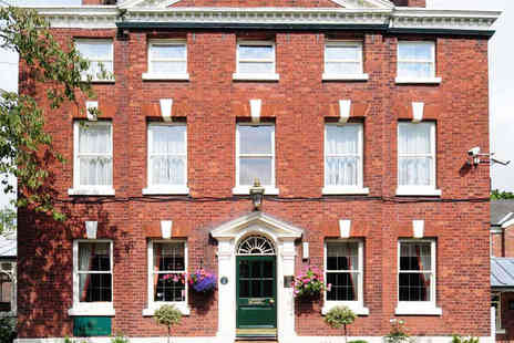Etrop Grange Hotel - One Night Stay for Two People with a Full English Breakfast - Save 55%