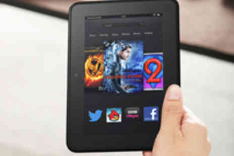 Amazon Media EU SARL - Free Voucher for a £75 Certified Refurbished Kindle Fire HD 32GB  - Save 100%