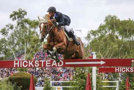 Hickstead - Family Entry to Hickstead Derby Meeting -  Save 55%