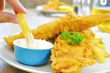 The Windmill  - Two Course Fish and Chips Meal For Two  - Save 54%