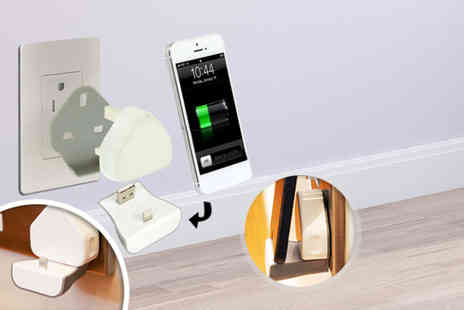 Suga Rush Love - Wireless smartphone wall charger and dock  - Save 60%