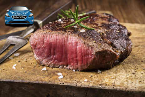 Truc Vert - Chateaubriand steak meal for 2 including a glass of wine - Save 52%
