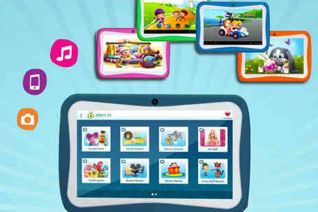 "Qualite - 7"" Android Tablet Junior Android Tablet in Choice of Colour - Save 67%"