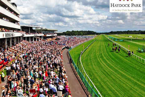 Haydock Park Racecourse - Two Tickets to Summer Salsa Ladies Evening on July 4  - Save 50%