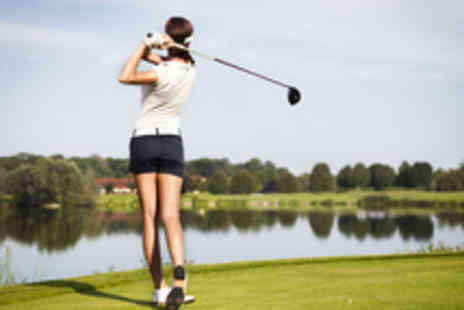 Greys Green Golf Course - Full Day of Golf for Two People with a Hot Drink Each - Save 33%