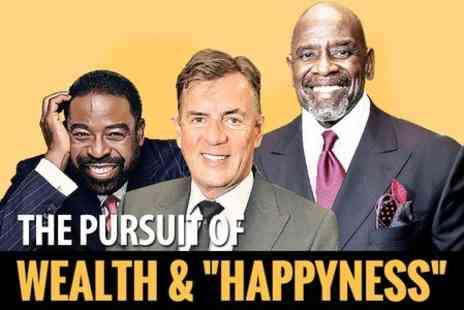 Success Resources - Gold Ticket to  The Pursuit of Wealth and Happyness Event  - Save 30%