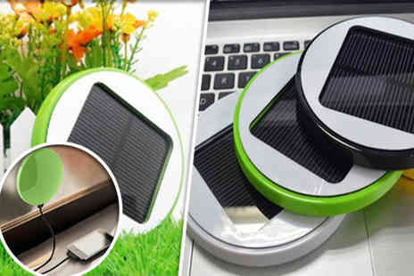Eezee Lifestyle - Portable USB solar charger - Save 57%