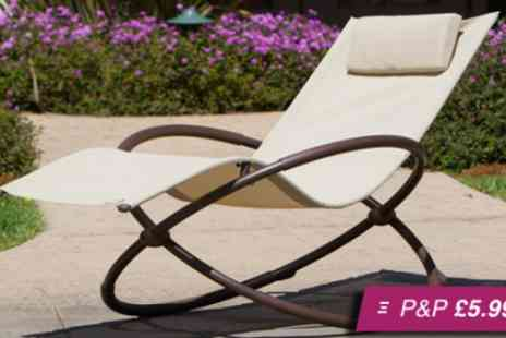 Trading Post Products - Orbit rocking garden chair - Save 67%