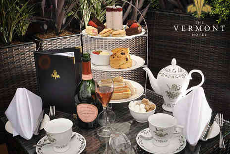 The Vermont Hotel - Perrier Jouet Champagne Afternoon Tea for Two - Save 50%