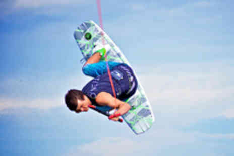Quayside Wakeboard & Waterski -  Wakeboarding or Waterskiing Experience for One Person - Save 69%