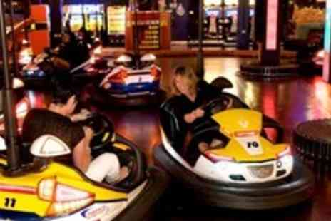 Namco Station - £50 Worth of Tokens For Bowling, Bumper Cars, and Video Games For Up to Six - Save 72%