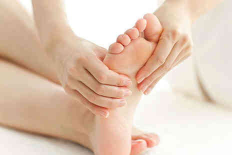 Bliss and Revive Beauty - Hour Long Reflexology Session with Consultation and Hot Stone Foot Massage - Save 68%