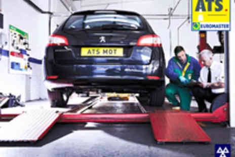 ATS Euromaster - Full MOT Test for One Car or Other Class 4 Vehicle - Save 26%