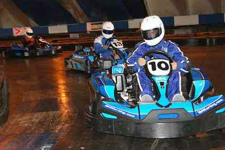 M4 Karting -  30 laps of go karting for 2 - Save 50%