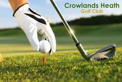 Crowlands Heath Golf Club - £8 for 18 Holes of Golf For Two - Save 77%