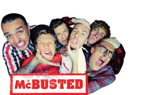 AEG Live - Two tickets to McBusted plus special guests Backstreet Boys - Save 50%