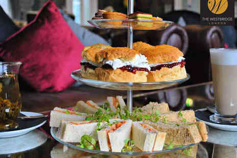 The Westbridge - Afternoon Tea with a Mocktail Each for Two - Save 43%