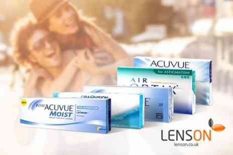 lenson - £40 To Spend on First Contact Lenses Order - Save 53%