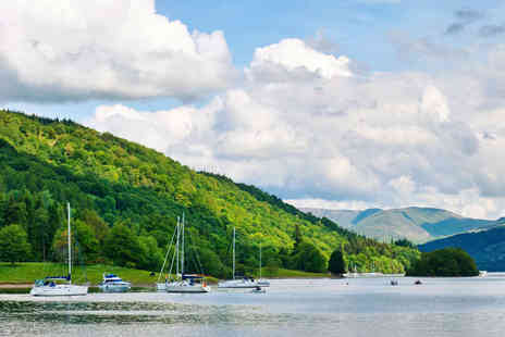 Newby Bridge - Two Night Windermere Stay for Two People with Breakfast - Save 56%