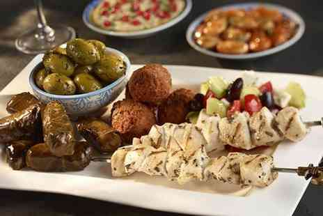 Gallipoli Again -  12 dish meze meal and glass of Prosecco for one person - Save 46%