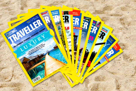 National Geographic Traveller - 10 issue subscription to National Geographic Traveller Magazine - Save 66%