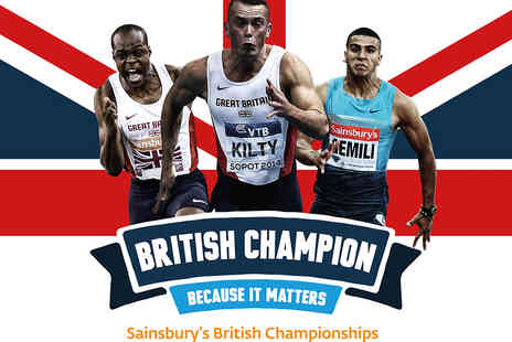 British Athletics - Tickets to the British Athletics Championships - Save 28%
