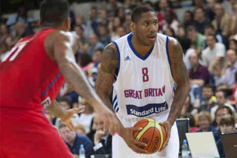 British Basketball League - Tickets to Great Britain Mens Basketball v Bosnia and Herzegovina - Save 55%