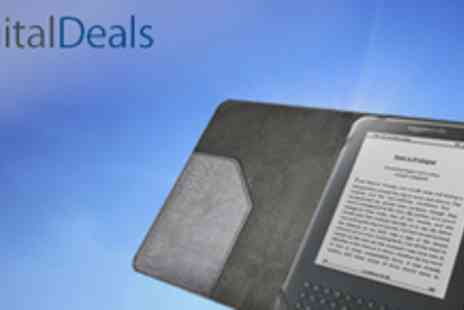 Digital Deals - Durable Kindle case in black or white - Save 68%