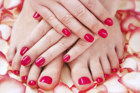 China Health Spa - Pedicure and Express Manicure  - Save 56%
