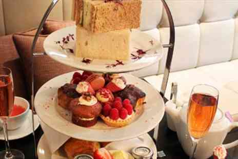 DoubleTree by Hilton -  Pink Champagne Afternoon Tea for 2  - Save 50%