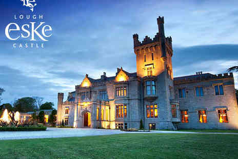Lough Eske Castle Hotel - Overnight Stay for Two with Daily Buffet Breakfast - Save 50%