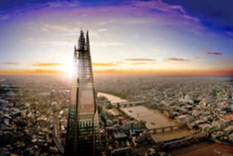 The View from The Shard - Entry to The View from The Shard with Complementary Champagne - Save 50%