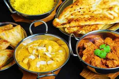 Swatlands Indian restaurant - Indian Dinner With Sides For Two  - Save 51%