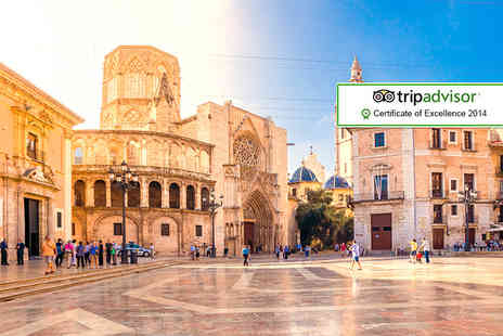 Major Travel - Two night break in  Valencia for two  including flights - Save 46%