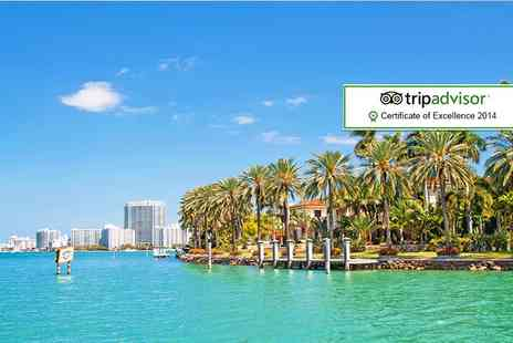 ClearSky Holidays - Four night break in Miami including return flights - Save 28%