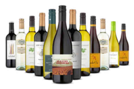 Naked Wines -  Two Mixed Cases Featuring 12 Select Bottles of Wine - Save 59%