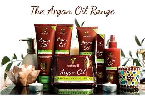 Little Secret Boutique - Complete Argan Oil Set  - Save 55%