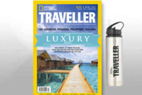 National Geographic Traveller  - Annual Subscription with Free Flask - Save 21%