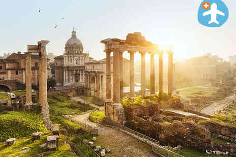 Weekender Breaks - One night stay for two in  Rome - Save 49%
