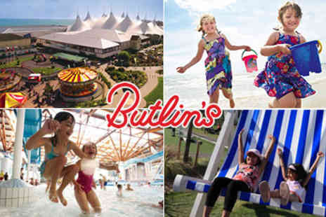 Butlins - Family Passes to Butlins - Save 50%